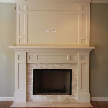 marble fireplace surround - Fireplace Surround Design Ideas
