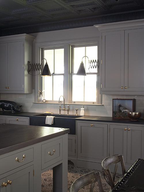 Soapstone Sink Eclectic Kitchen Wendy Posard