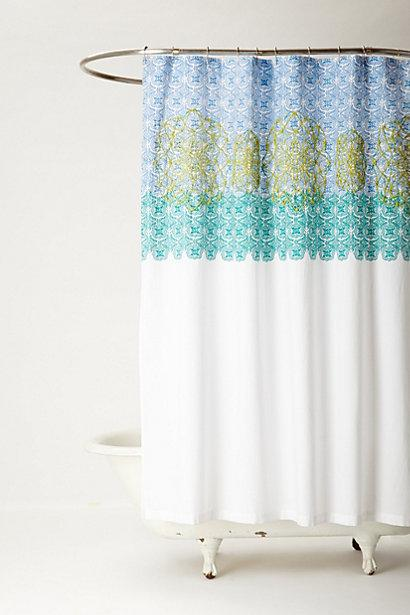 Curtains Ideas anthropology shower curtain : Medallion Shower Curtain I Anthropologie.com