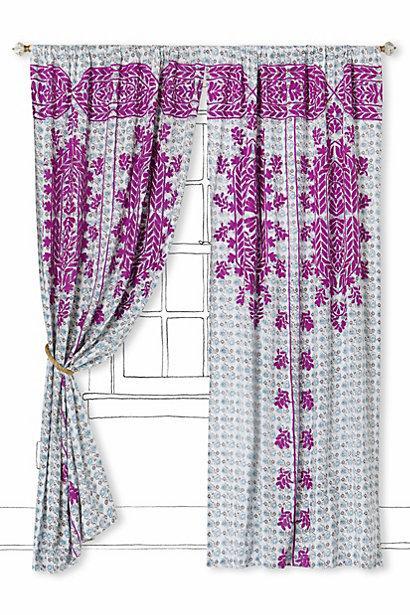 Suzani Stitch Curtain I Anthropologie Com