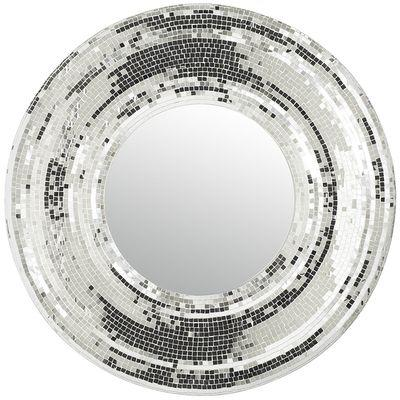 Pier One Wall Mirrors irena grey mosaic mirror