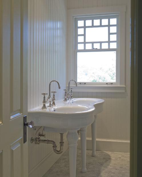 Beadboard Walls In Bathroom: Beadboard Walls- Cottage