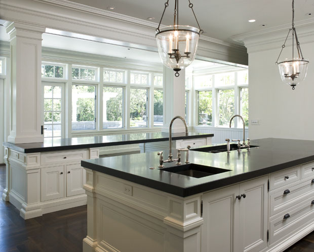 Dual Kitchen Islands Transitional Kitchen Wendy Posard