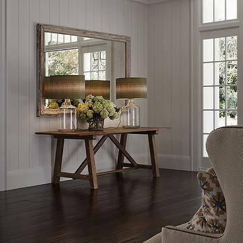 Foyer Wood Paneling Design Ideas
