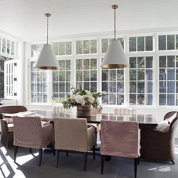 Sunroom Design Cottage Dining Room Tammy Connor