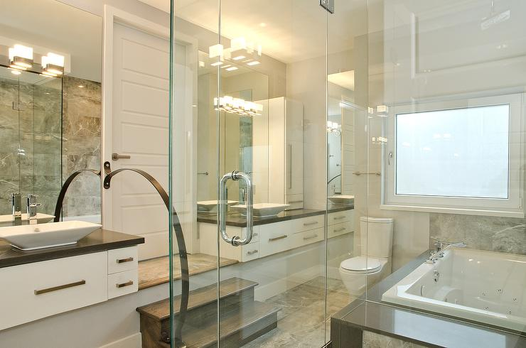 Glass Shower Doors In Contemporary Bathroom View Full Size. Lejla Eden,  Designer