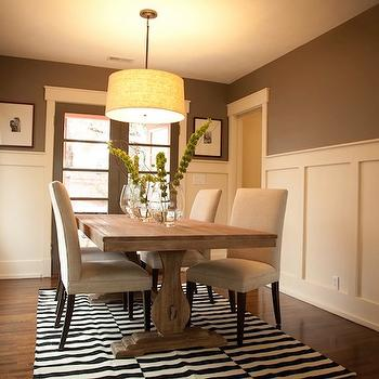 Board and Batten Dining Room, Transitional, dining room, Ashley Winn Design