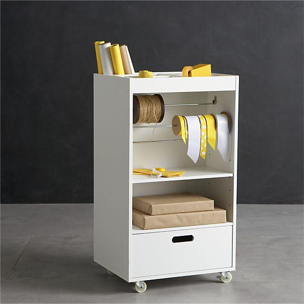 Peachy Wrapping Cart In Utility Crate And Barrel Download Free Architecture Designs Scobabritishbridgeorg