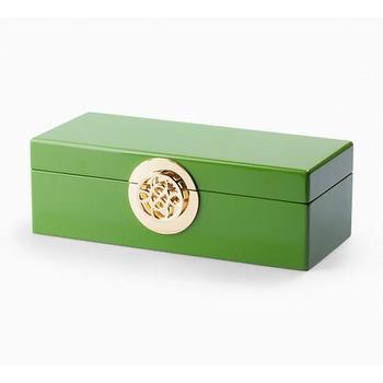 Rectangular Lacquer Jewelry Box I C. Wonder