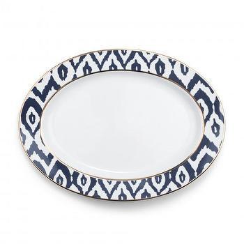 Ikat Oval Serving Platter, C. Wonder
