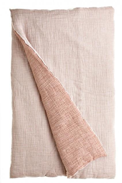 Farmhouse Linen Java Natural Duvet Cover
