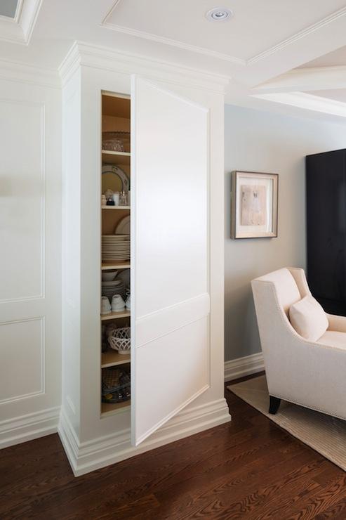 Hidden Cupboard Traditional Kitchen Parkyn Design