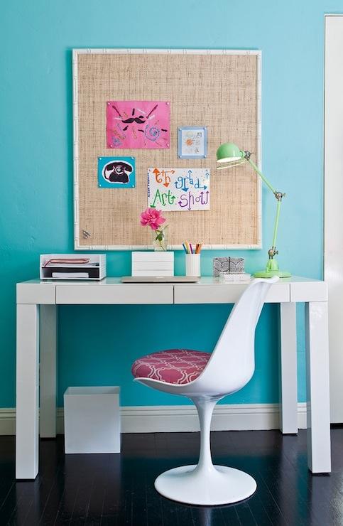 Turquoise Girlu0027s Bedroom