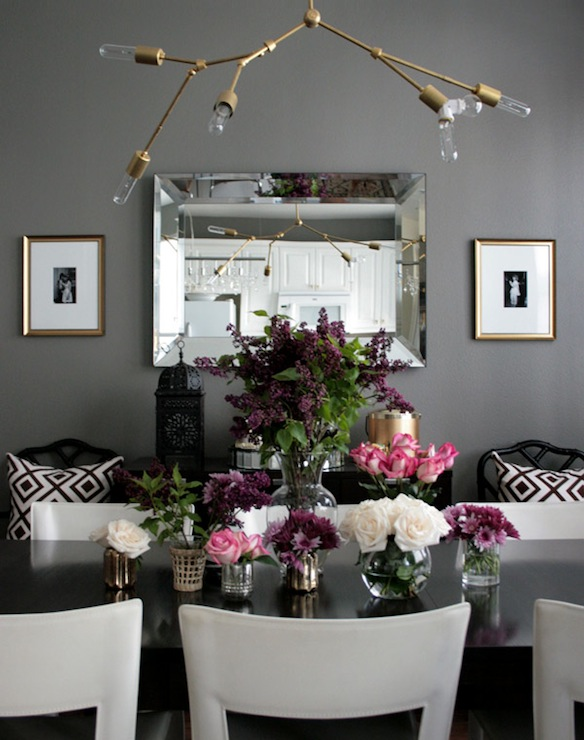diy lindsey adelman chandelier contemporary dining room ralph