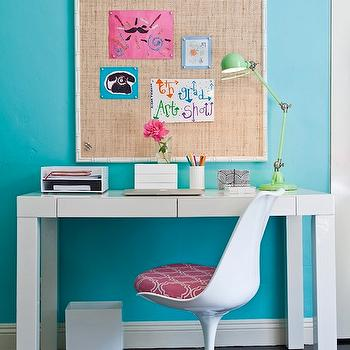 Turquoise Girl's Bedroom, Contemporary, girl's room, Cox Paint Diamonds Are Not Forever, JAC Interiors