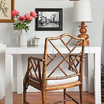 Chippendale Chair, Contemporary, den/library/office, Lauren Nelson Design