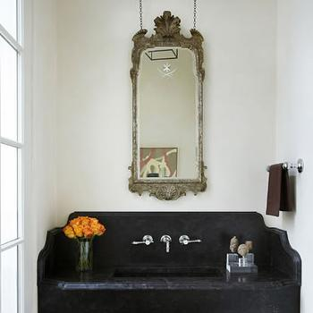 Floating Vanity, Cottage, bathroom, James Michael Howard