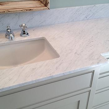 Carrara Marble Countertops Design Ideas