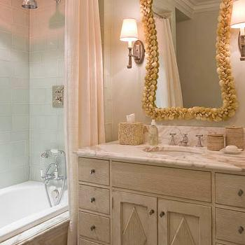 Rustic Weathered Double Bathroom Vanity Design Ideas