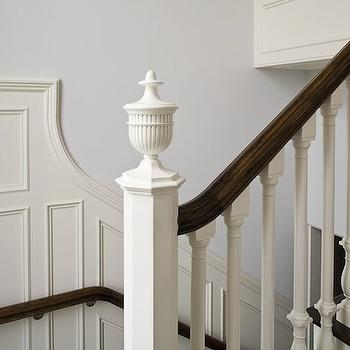 Wainscoting Stairs Throughout Decor