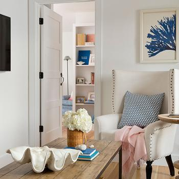 Large Clam Shell, living room, Kate Jackson Design