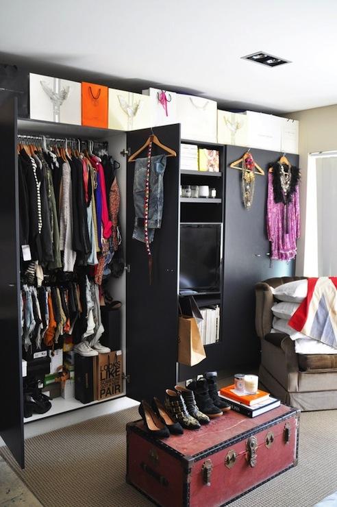 Vintage Walk In Closets Design Ideas