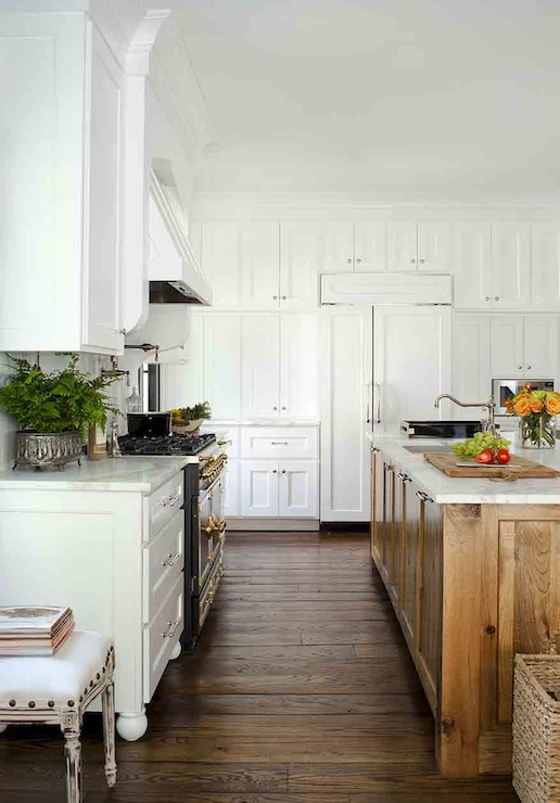 Floor To Ceiling Cabinets Transitional Kitchen