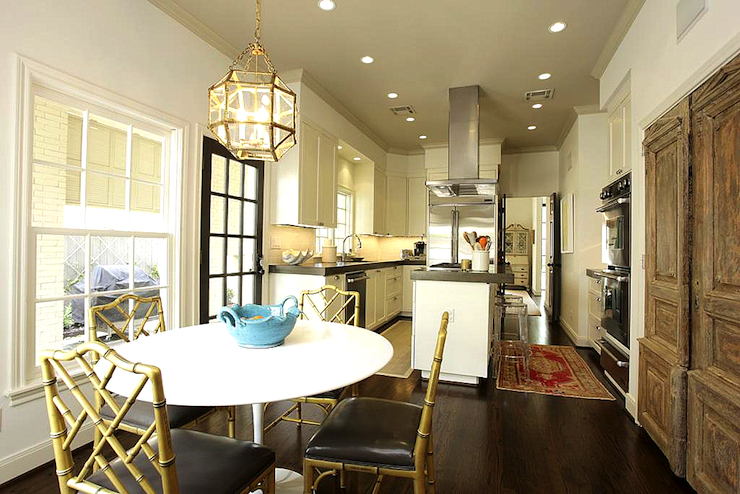 Suzanne Kasler Morris Lantern Transitional Dining Room