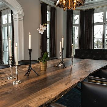 Salvaged Wood Dining table, dining room, Vanessa Deleon