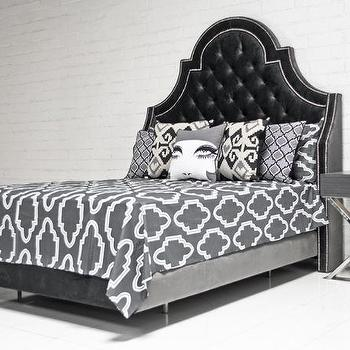Casablanca Bedding in Charcoal I roomservicestore