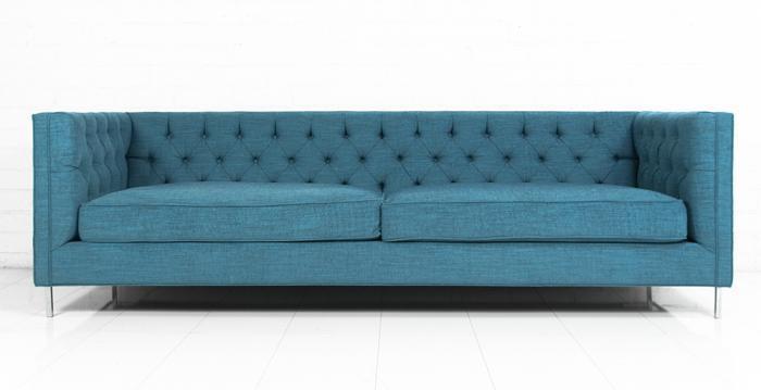 Finn turquoise sofa - Turquoise sofa ...