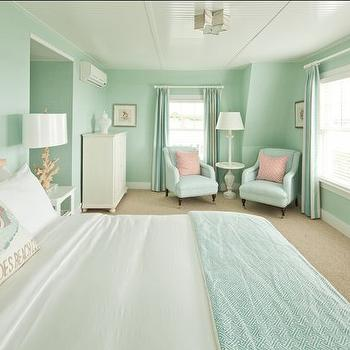 seafoam green walls design ideas