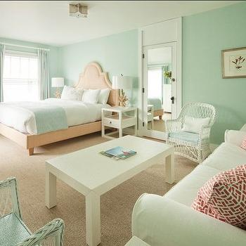 Seafoam Living Room Walls