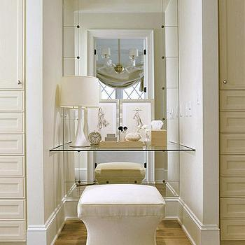 Dressing Table Alcove, Transitional, closet, BHG