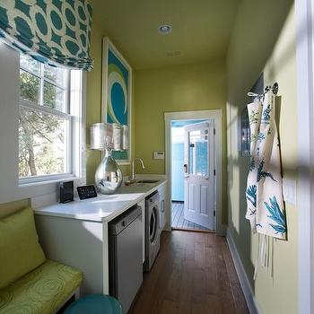 Long And Narrow Laundry Room Design