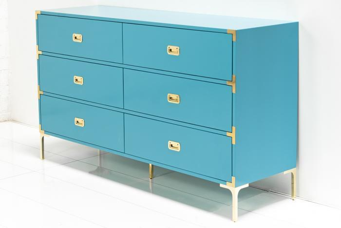 Beautiful Jet Set Dresser In Turquoise I Roomservicestore