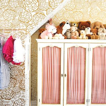French Wardrobe Cabinet, Eclectic, girl's room, Bijou and Boheme