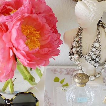 Jewelry Bust, Transitional, bedroom, Fabulous K