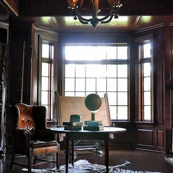 Delightful Paneled Office