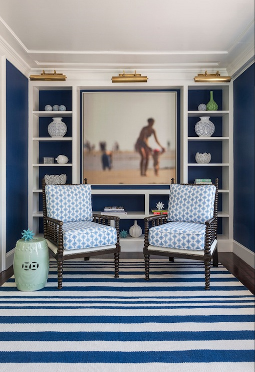 Navy Blue Rug Design Ideas