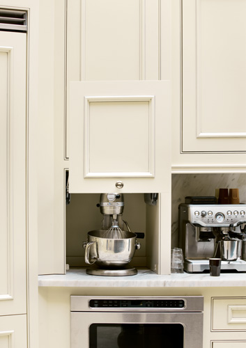 Small Appliance Cabinet Kitchens