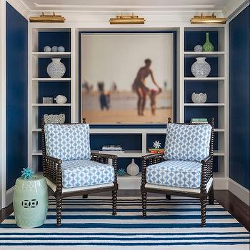 Bon Navy Blue Office