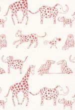 Lulu DK Jungle Jubilee Punch Fabric I LynnChalk.com