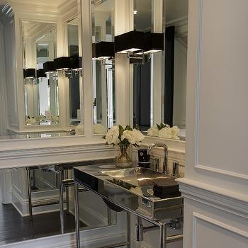 Chrome Washstand, Contemporary, bathroom, P2 Design