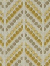 Robert Allen Dotted Zigs Zest Fabric I LynnChalk.com