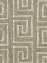 Robert Allen Crazy Maze in Linen Fabric I LynnChalk.com