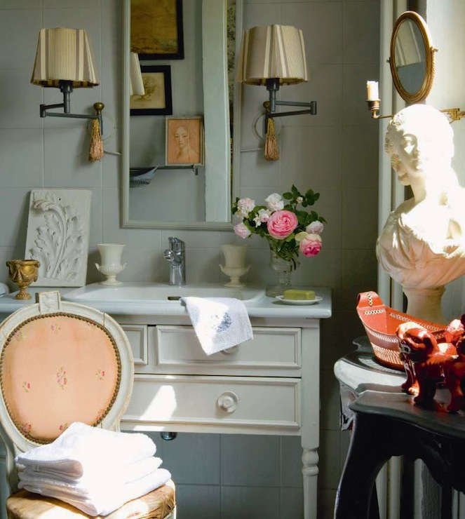 French Country Bathroom French Bathroom Martha