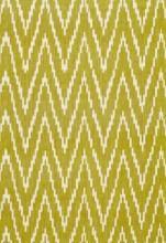 Schumacher Kasari Ikat Palm Fabric I LynnChalk.com