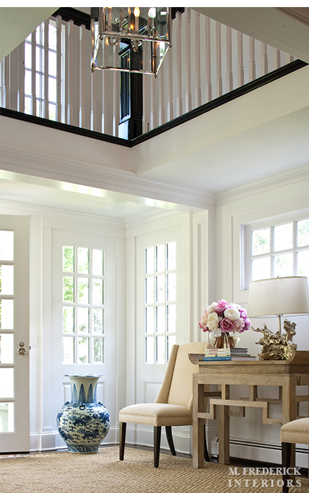 Two Story Foyer Decor : Two story foyer design transitional entrance m