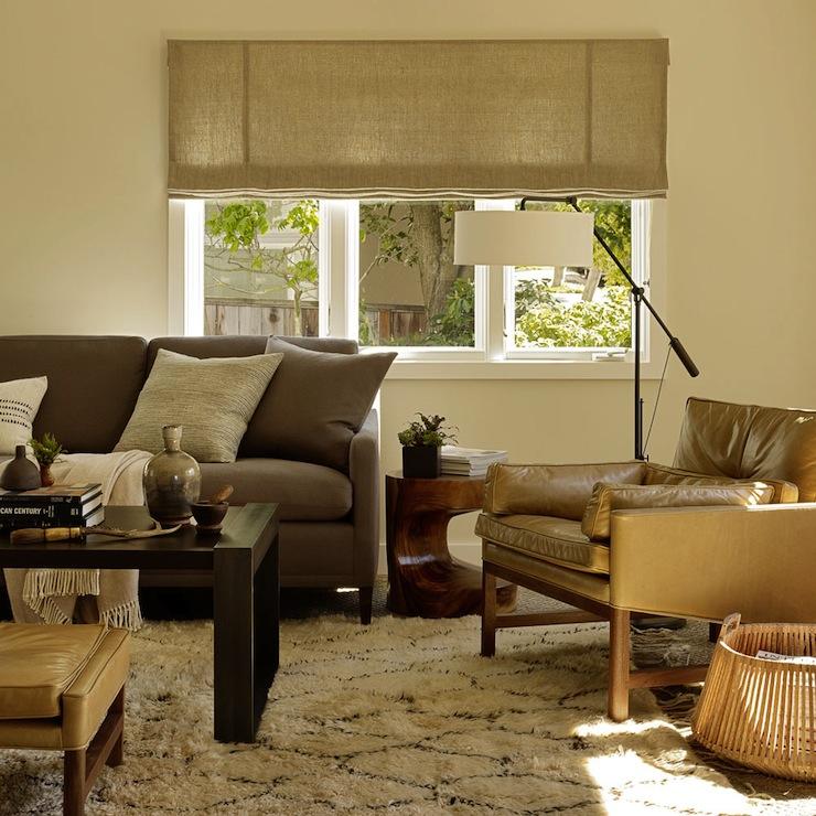Gray Sofa Modern living room Jute Interior Design